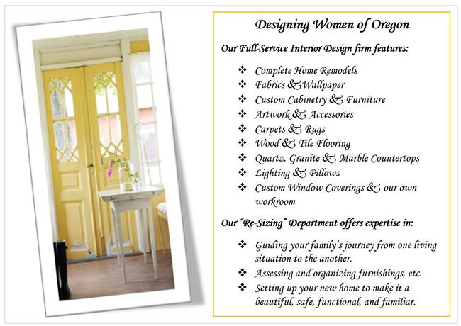 Designing Women of Oregon