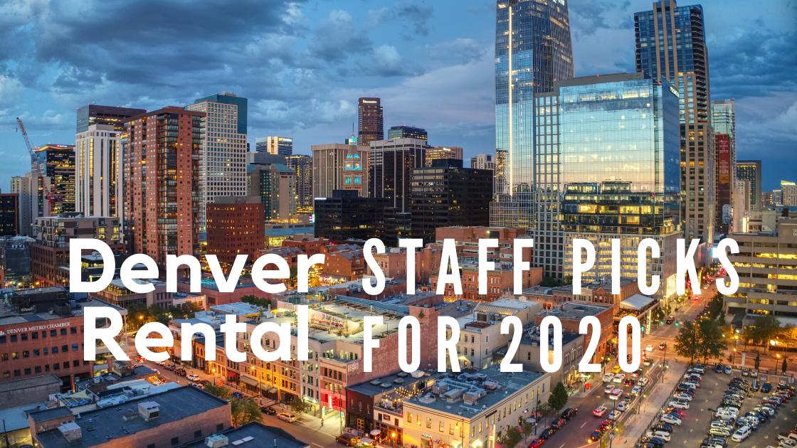 Denver Rentals Top 20 Picks for 2020
